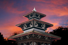 durbar加德满都尼泊尔广场 库存图片