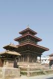durbar加德满都尼泊尔广场 免版税库存图片