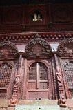 Durbar广场在加德满都尼泊尔 库存照片