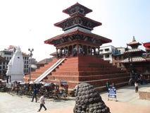 Durbar广场在加德满都尼泊尔 库存图片