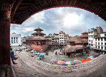 durbar πλατεία του Κατμαντού στοκ φωτογραφία με δικαίωμα ελεύθερης χρήσης