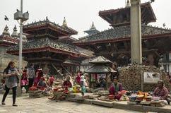 durbar квадрат kathmandu Непала Стоковая Фотография RF
