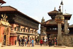 Durbar in Bhaktapur Royalty Free Stock Photo