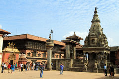 Durbar in Bhaktapur Stock Images