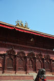 Durbar fyrkant på Katmandu Nepal Royaltyfri Foto