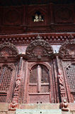 Durbar fyrkant på Katmandu Nepal Arkivfoto
