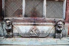 Durbar fyrkant på Katmandu Nepal Royaltyfri Fotografi