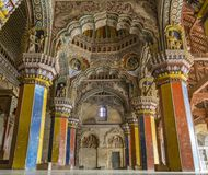 Durbar Hall du palais de Thanjavur image stock