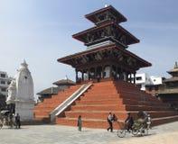 durbar kathmandu nepal patan fyrkant Fotografering för Bildbyråer