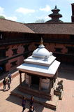 Durbar kwadrat w Lalitpur, Nepal Fotografia Royalty Free