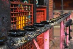 durbar nepal för ljusstake patan fyrkantigt tempel Royaltyfria Foton