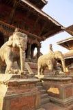 durbar nepal patan fyrkant Fotografering för Bildbyråer
