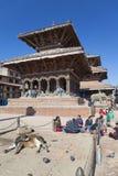 durbar nepal patan fyrkant Royaltyfri Fotografi