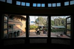 durbar patan πλατεία του Νεπάλ στοκ φωτογραφία