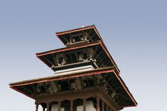 Durbar Quadrat - Katmandu Stockfotografie