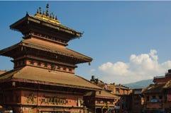 Durbar Squar, Bhaktapur, Nepal Royalty Free Stock Photos