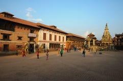 Durbar Squar, Bhaktapur, Nepal Stock Photography