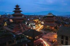 Durbar Squar, Bhaktapur, Nepal Royalty Free Stock Images