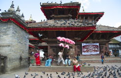 Durbar Square Stock Image