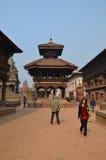 Durbar Square in Bhaktapur Stock Photography