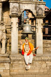 Durbar square in Bhaktapur Royalty Free Stock Photography