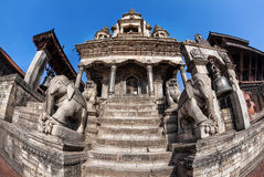 Durbar square in Bhaktapur Stock Photo