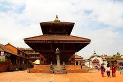 Durbar Square of Bhaktapur Royalty Free Stock Photography