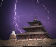 Durbar Square in the center of Kathmandu Royalty Free Stock Photos