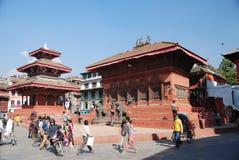 Durbar square in Kathmandu Stock Image
