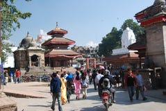 Durbar square in Kathmandu Stock Photo