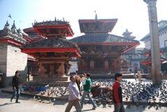 Durbar square in Kathmandu Royalty Free Stock Photography