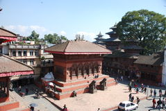 Durbar square in Kathmandu Royalty Free Stock Photography