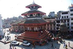 Durbar square in Kathmandu Royalty Free Stock Photos