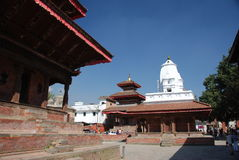 Durbar square in Kathmandu Royalty Free Stock Images