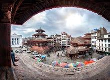 Durbar square in Kathmandu Royalty Free Stock Photo