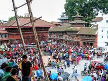 Durbar Square Kathmandu Stock Photo