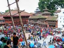 Durbar Square Kathmandu Stock Photo