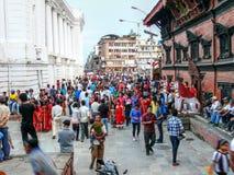 Durbar Square Kathmandu Stock Image