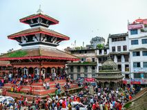 Durbar Square Kathmandu Stock Photography