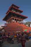 Durbar Square in Kathmandu Stock Photography