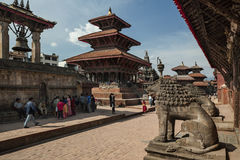 Durbar Square - Kathmandu - Nepal Royalty Free Stock Images
