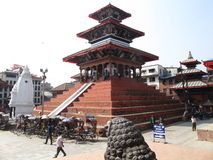 Durbar square at Kathmandu Nepal Stock Image