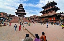 Durbar square, Kathmandu, Nepal Stock Images