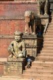 Durbar square, Kathmandu, Nepal Royalty Free Stock Photos