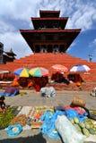 The Durbar square in Kathmandu, Nepal Royalty Free Stock Photos