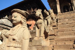 Durbar Square In  Nepal. Stock Photos