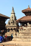 Durbar Square In Nepal. Stock Photo