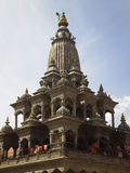 Durbar Square - Patan - Kathmandu - Nepal. Krishna Mandir Hindu Temple in Durbar Square in Patan in the Lalitpur area of Kathmandu in Nepal.  It is one of the Royalty Free Stock Image