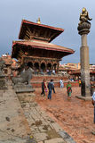 The Durbar square of Patan Royal city. Nepal Stock Photos