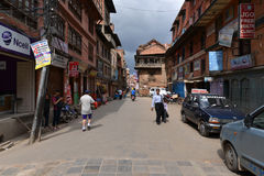 The Durbar square of Patan Royal city. Nepal Stock Image